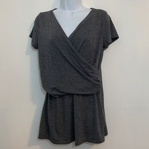 Gray maternity top by Old Navy. Size medium